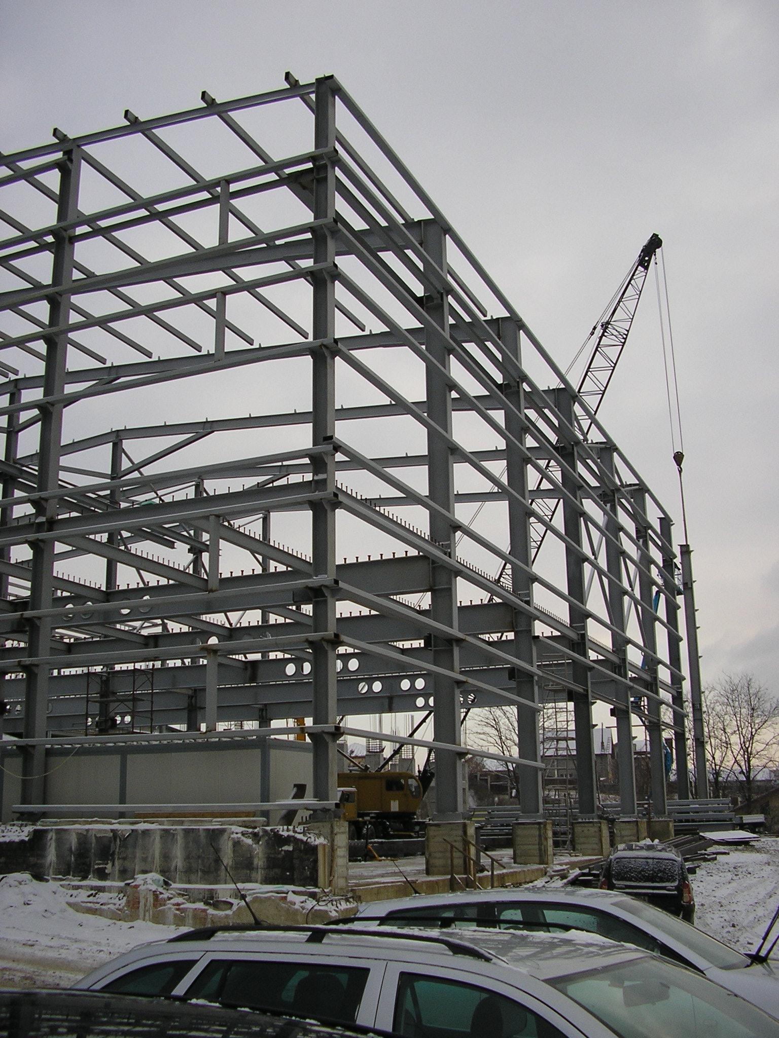 Constructie Structura Metalica Total Gaz