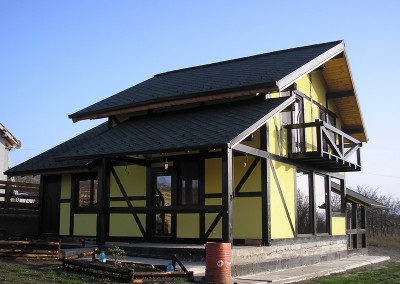 Constructie Casa din Tomesti, Iasi